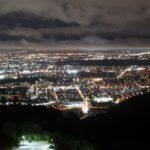 藻岩山からの夜景4