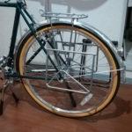 【自転車装備】ランドナーにリアキャリアを装備する