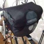 【自転車装備】ランドナーにフロントバッグを装備する