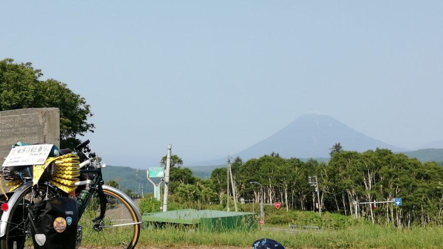 【自転車北海道旅】夏風邪サバイヴ2019_22日目(喜茂別-札幌市街)
