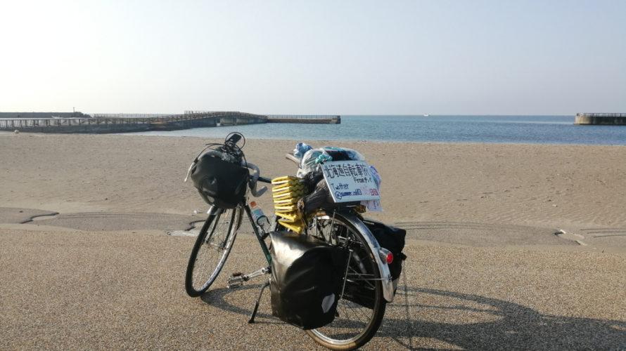 【自転車北海道旅】夏風邪サバイヴ2019_106日目(豊浦-森町)