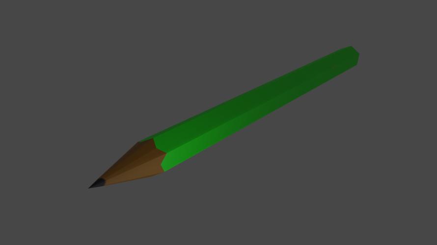 [blender2.8]3DCGを勉強してみる 1日目