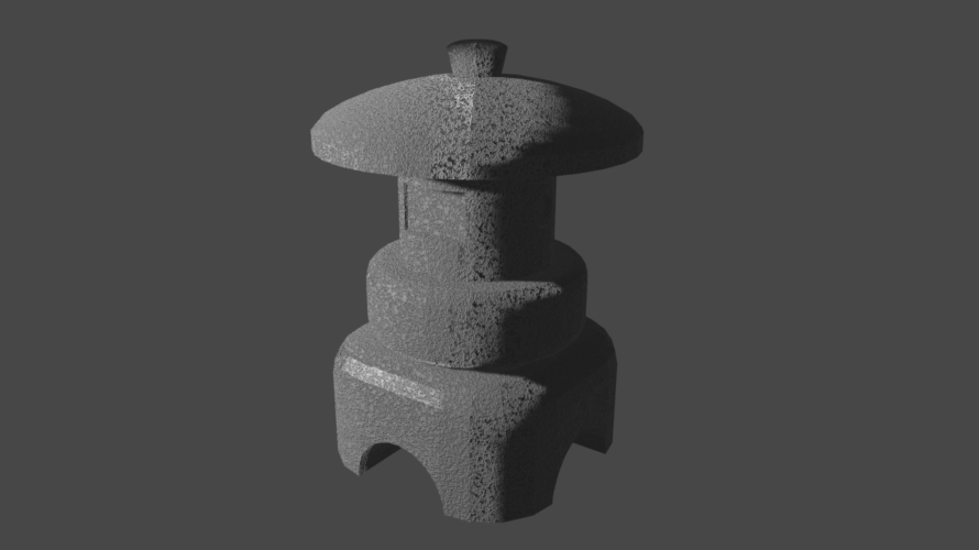 [blender2.8]3DCGを勉強してみる 31日目