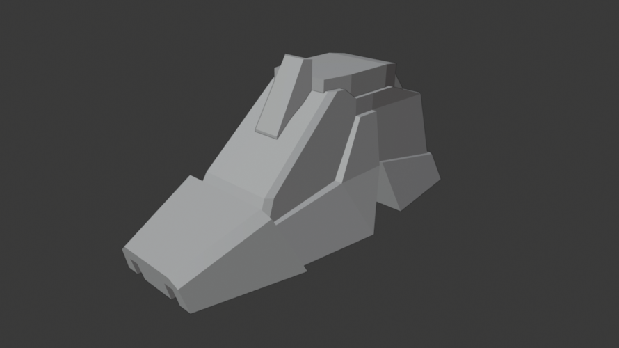 [blender2.8]3DCGを勉強してみる 43日目