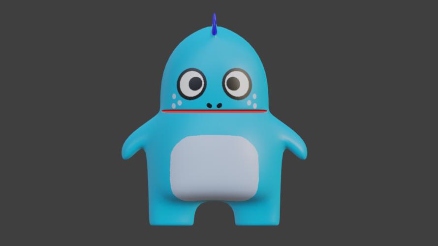 [blender2.8]3DCGを勉強してみる 68日目
