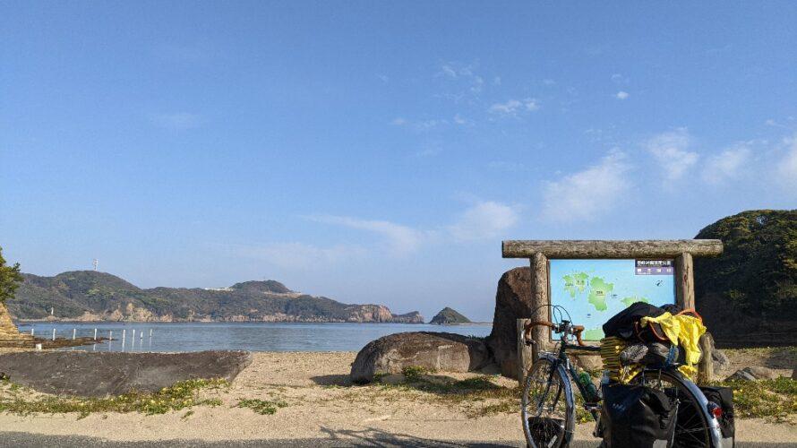 【10日目】九州自転車旅2021-勝本〜石田