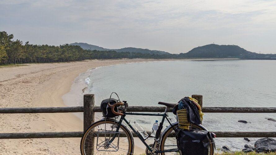 【11日目】九州自転車旅2021-壱岐石田〜唐津鎮西町